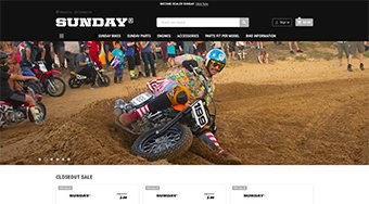 Sunday motors Boutique en ligne de motos Flat Track